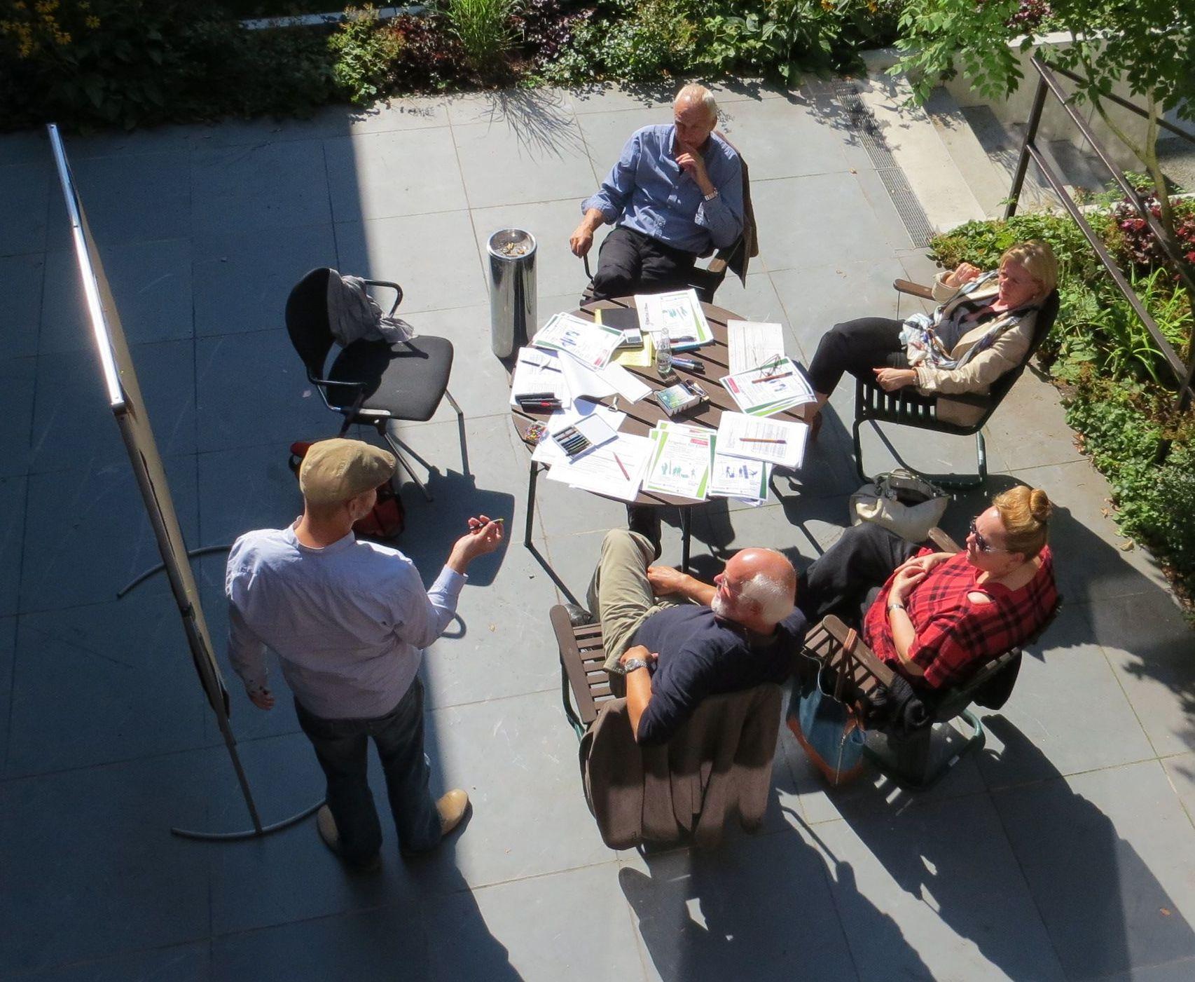 Strategieworkshop der Steuerungsgruppe Schule-Jugendhilfe in Steglitz-Zehlendorf vom 29.08.2013